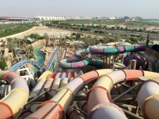 Great selection of rides at Yas