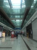 Corridor inside this huge building