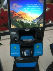 Self check-in stand