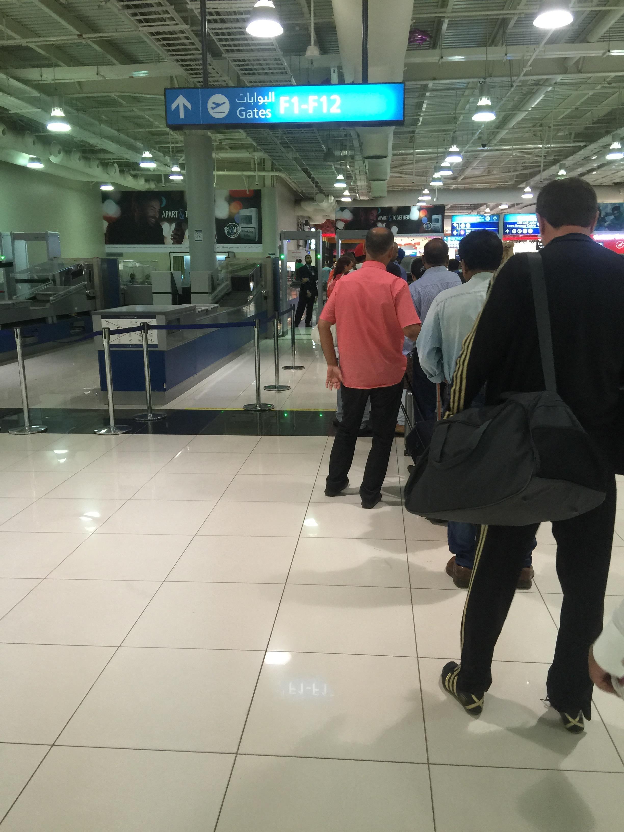 Dubai Emirates Terminal Check