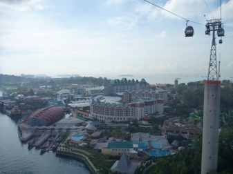 This is full Sentosa entertainment complex