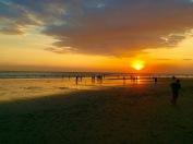 Sunset on Seminyak Beach