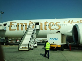 Economy class section boarding