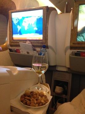 Pre-flight drink