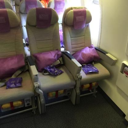 All 3 emergency door seats