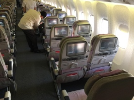 """View at all the """"double"""" seats"""