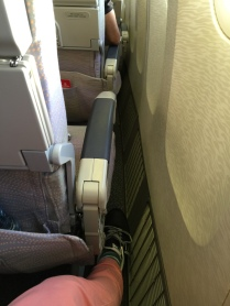 Gap between seat and the wall