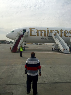 Boarding in Cairo