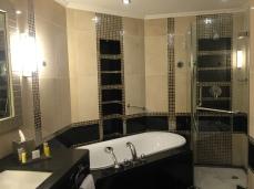 Bathtub and Shower Corner