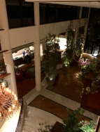 Lobby view from mezzanine floor