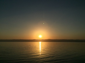 SunSet over Dead Sea