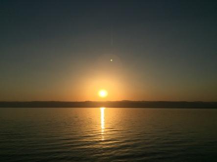SunSet over Dead Sea