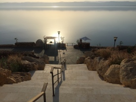 Steps in to Dead Sea