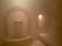Steam Room in the Spa
