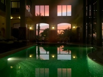 "Indoor Pool ""sunset"""