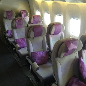 Last rows on every B777 are the best seats