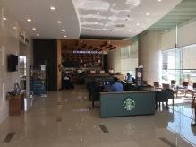 Starbucks coffee shop inside the lobby