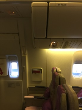 Emergency seats row vary by aircraft