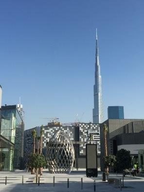 Impressive view at Burj Khalifa