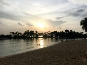 Nearest beach is 3 min walk