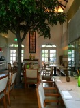 The Garden restaurant located at the Spa
