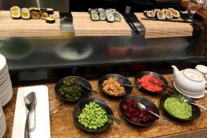 Sushi for breakfast