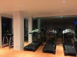Few cardio machines