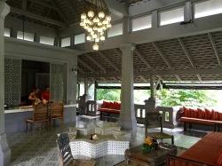 Lobby of the Spa