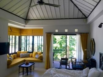 Day view of the room
