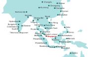 Silk Air Routes