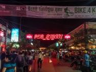 The infamous Pub Street
