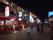 Lively Night Life in Siem Reap