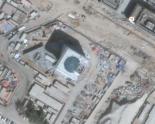 Satellite image of the location