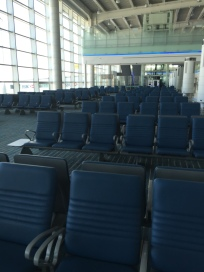 Seating areas at the gate