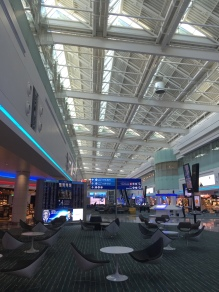View from the main floor