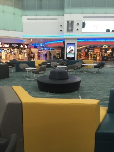 Comfortable seating area