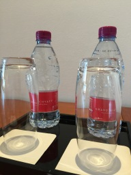 Complimentary water