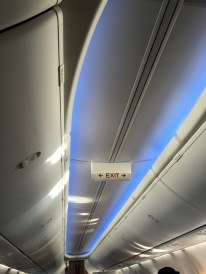 Detail of ceiling LED lighting