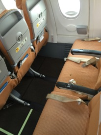 Emergency row leg room