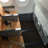 First row leg room