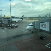 At Singapore Changi Airport