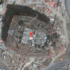 Satellite image detail