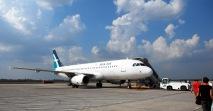 Silk Air B737 at Siem Reap Airport