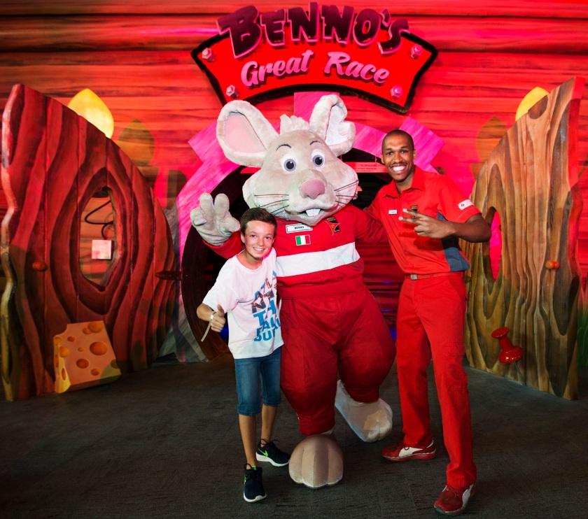 Bennos Great Race Ferrari World