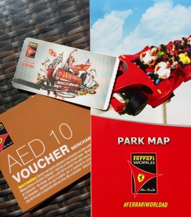 Map, ticket and ready to go