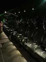 Gliding hydraulic benches