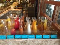 Plenty of fresh juices