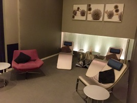 Chilling area at the Spa