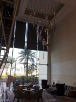 Lounge area at the Lobby