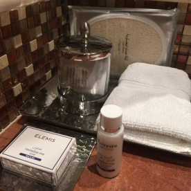 Details on toiletries